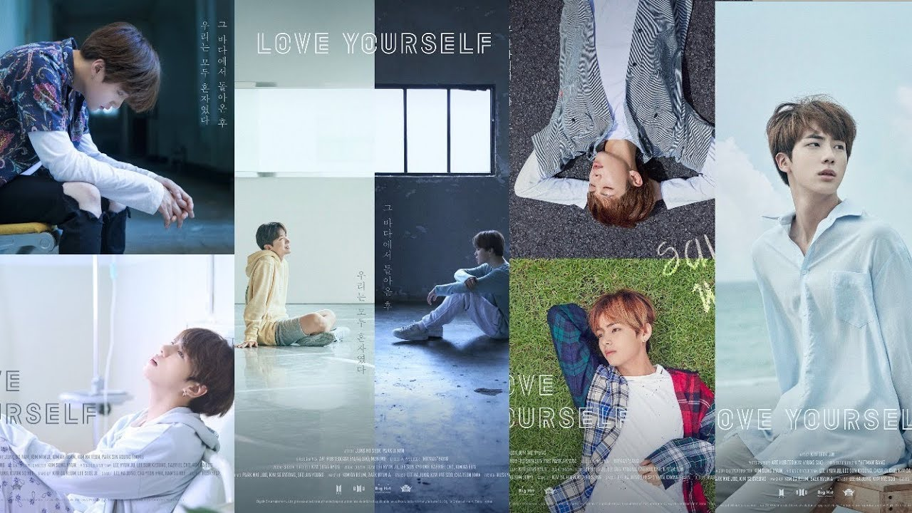More Posters Of Bts Love Yourself Quotes Meanings