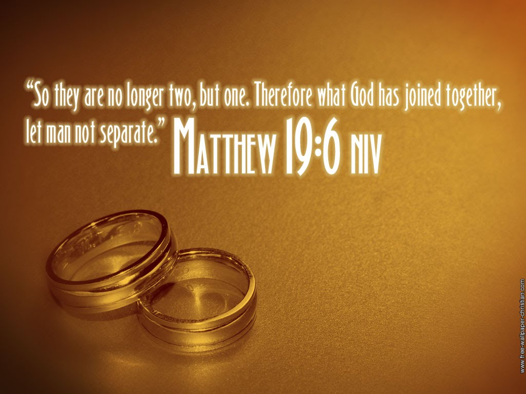 Bible Verses About Marriage Or Wedding