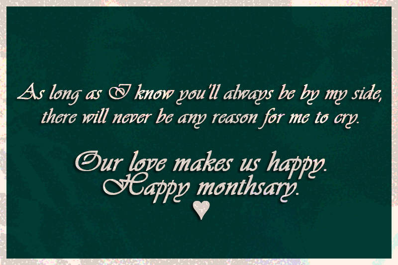 Love Quotes For Her Monthsary