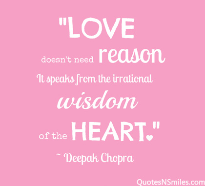 Popular Wisdom Quote Heart