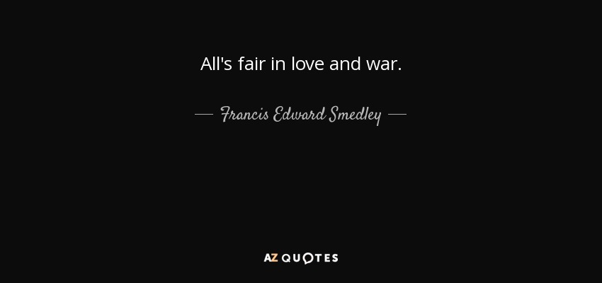 Love And War Quotes