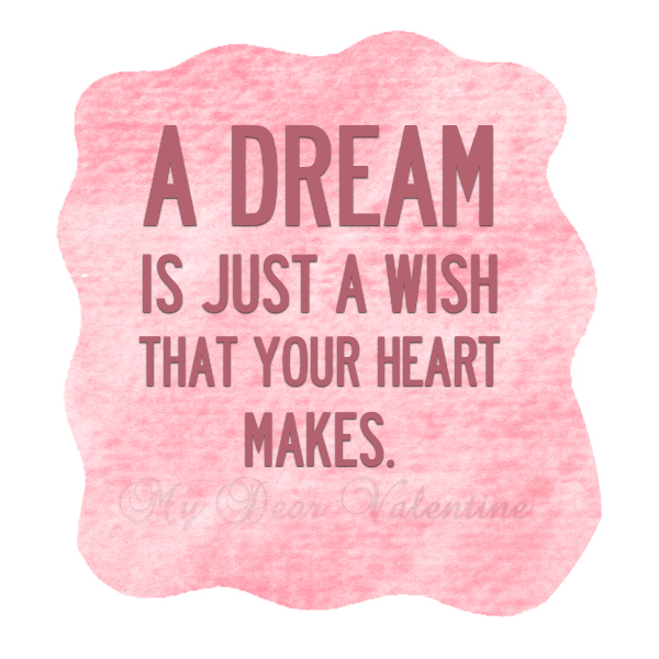 Quotes About Dreams And Love  For Sweet W
