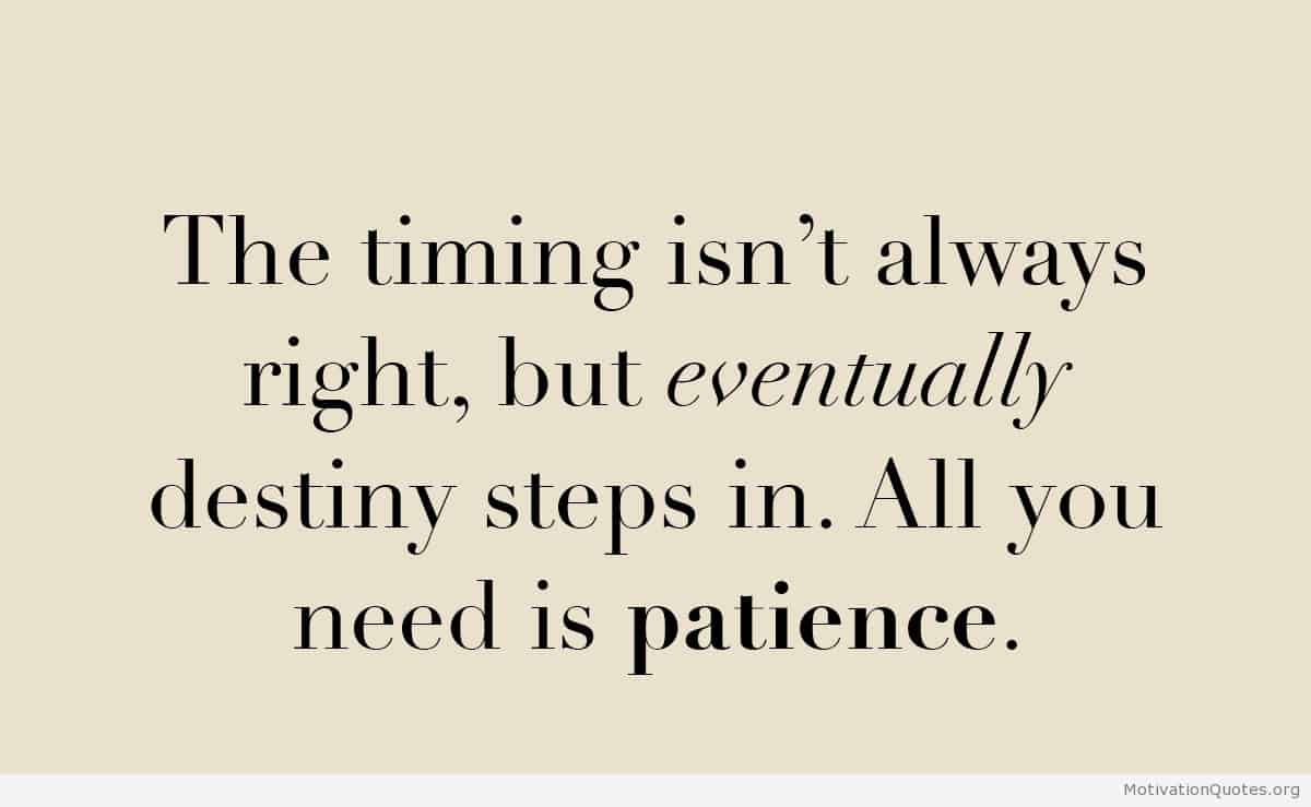 Quotes About Love Patience