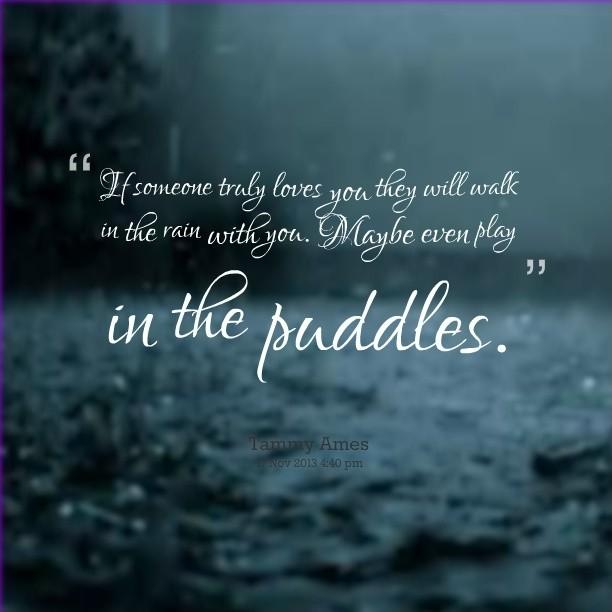 Rain Quote Picture Quote