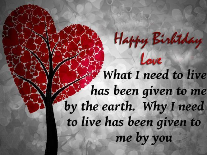 Quote Love Quote For Boyfriend Birthday