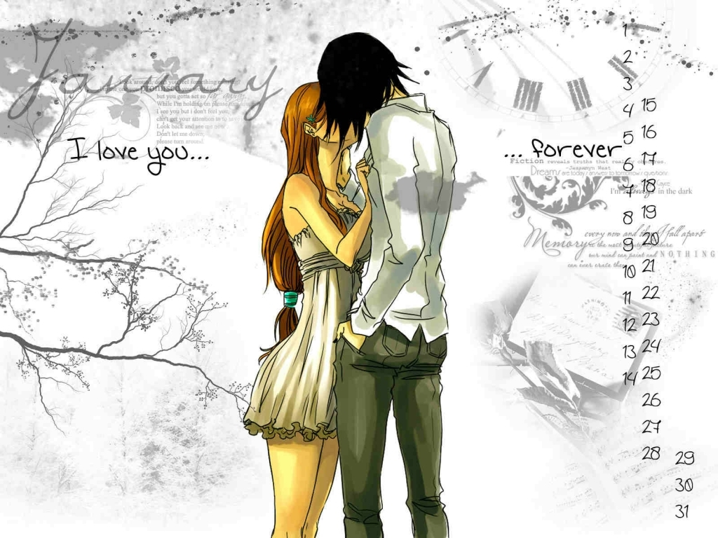 Romantic Love Couples With Quotes Anime Romance Anime Love Couple Kissing Images Hd Pixhome