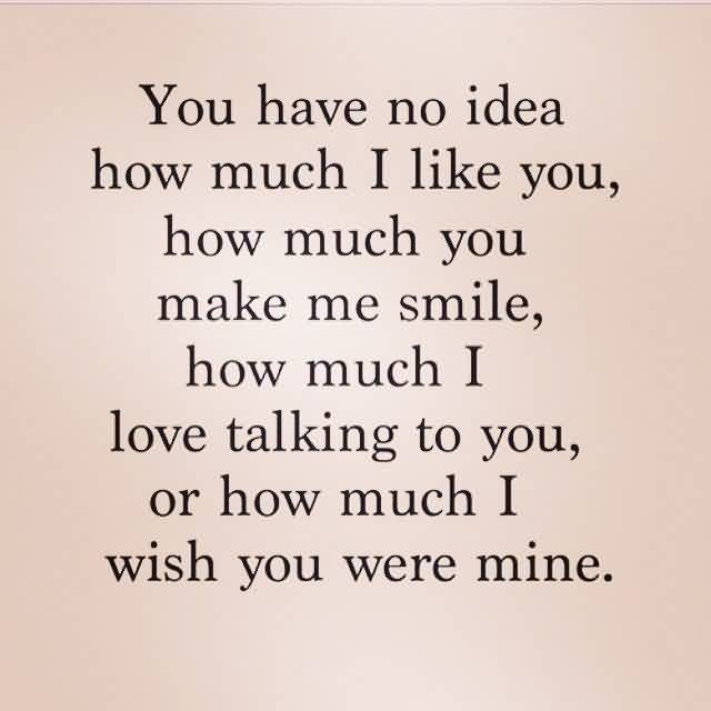 Romantic Love Proposal Quote Image I Love Talking To You