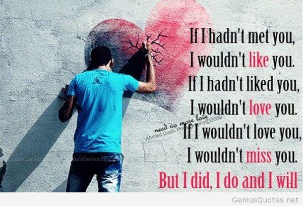 Sad Love Quotes I Wish