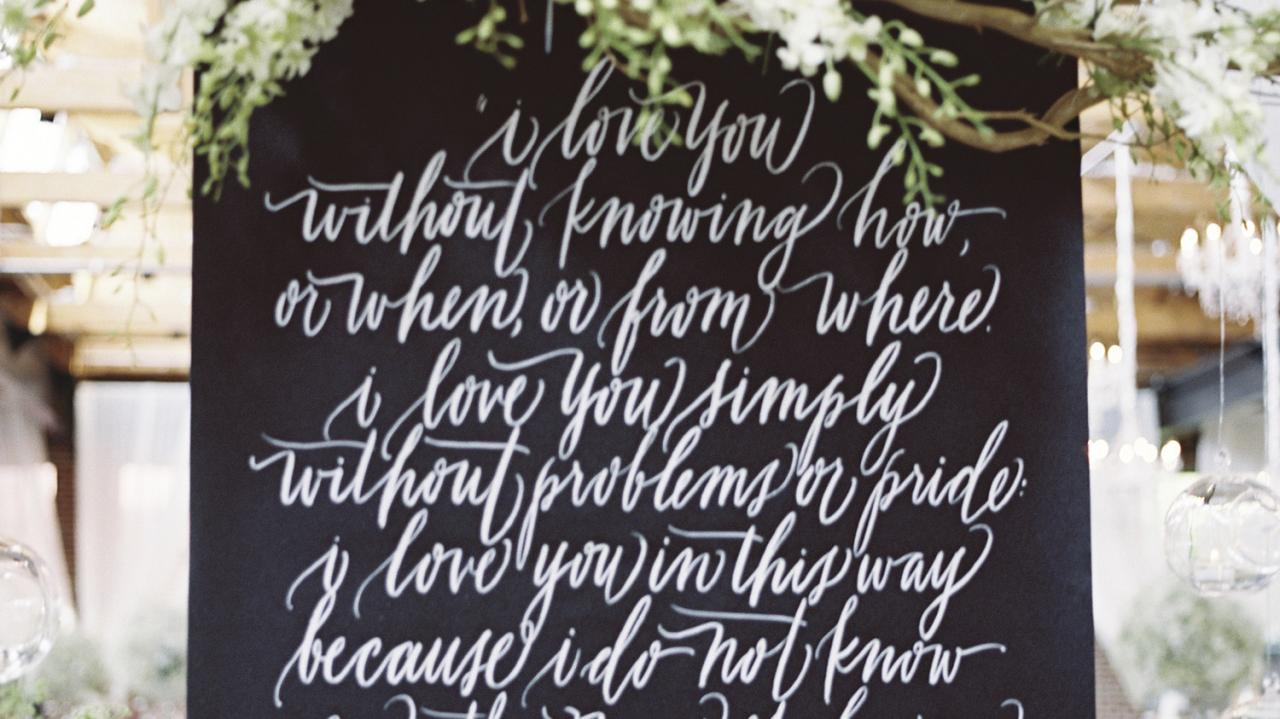 Short And Sweet Love Quotes That Will Speak Volumes At Your Wedding Martha Stewart Weddings