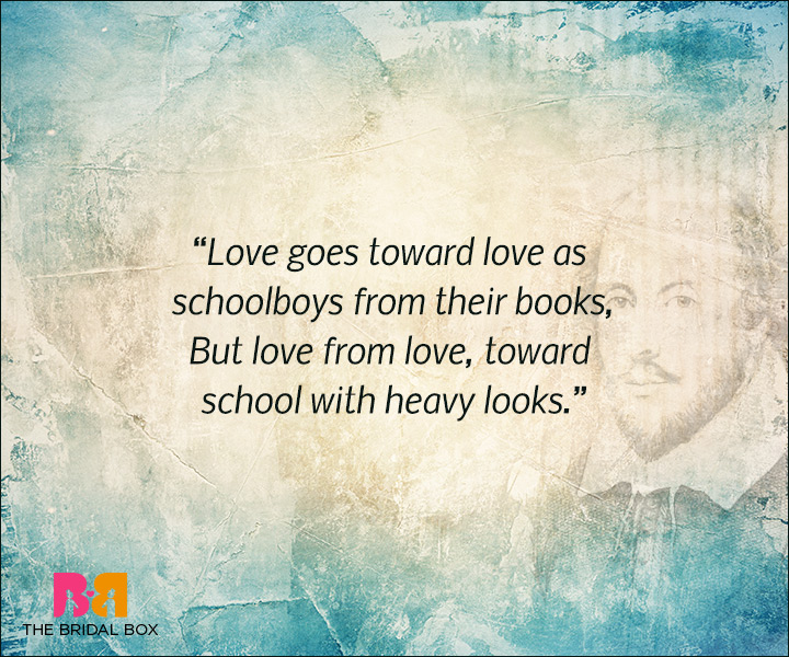 Shakespeare Love Quotes Love From Love