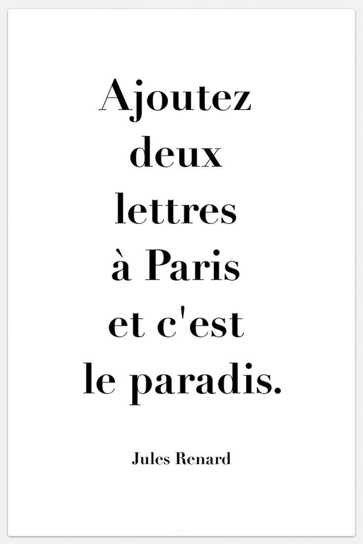 Paris Quote Etsy Source  C B Short French Love Quotes The  Best Paris Quotes Ideas Pinterest
