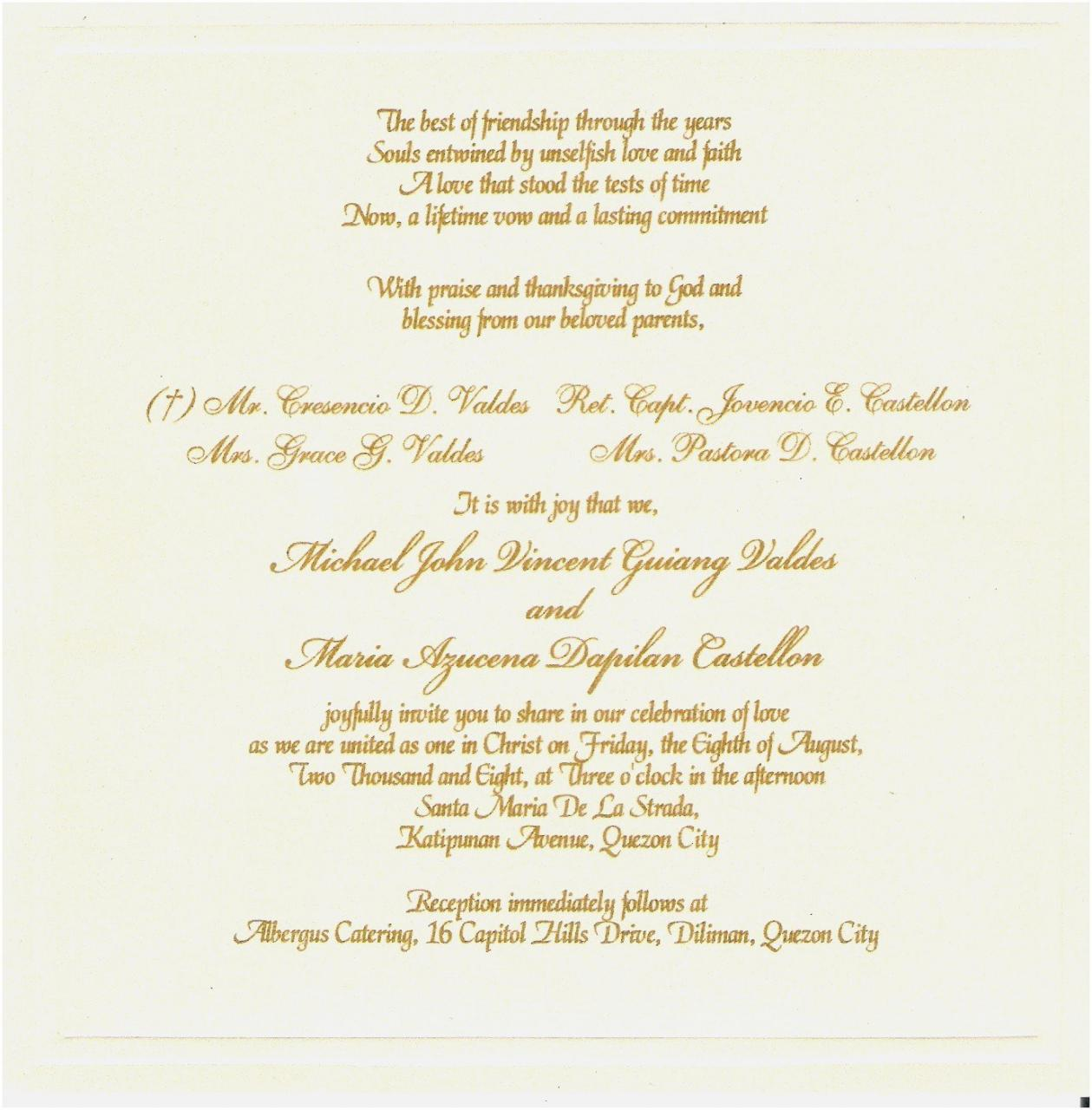 Short Love Quotes For Wedding Invitations New  Luxury Marriage Invitation Cards Quotations