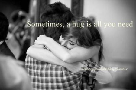 Sometimes A Hug Is All You Need