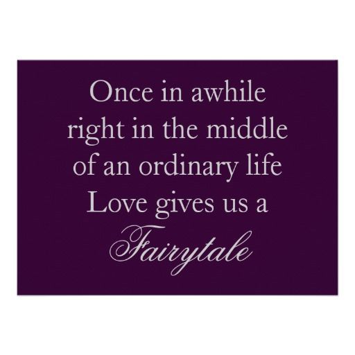 As The Quote Says Description Purple Wedding Invitations With Love Quote