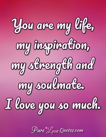 Free Download The Love Of My Life Quotes For Him ...