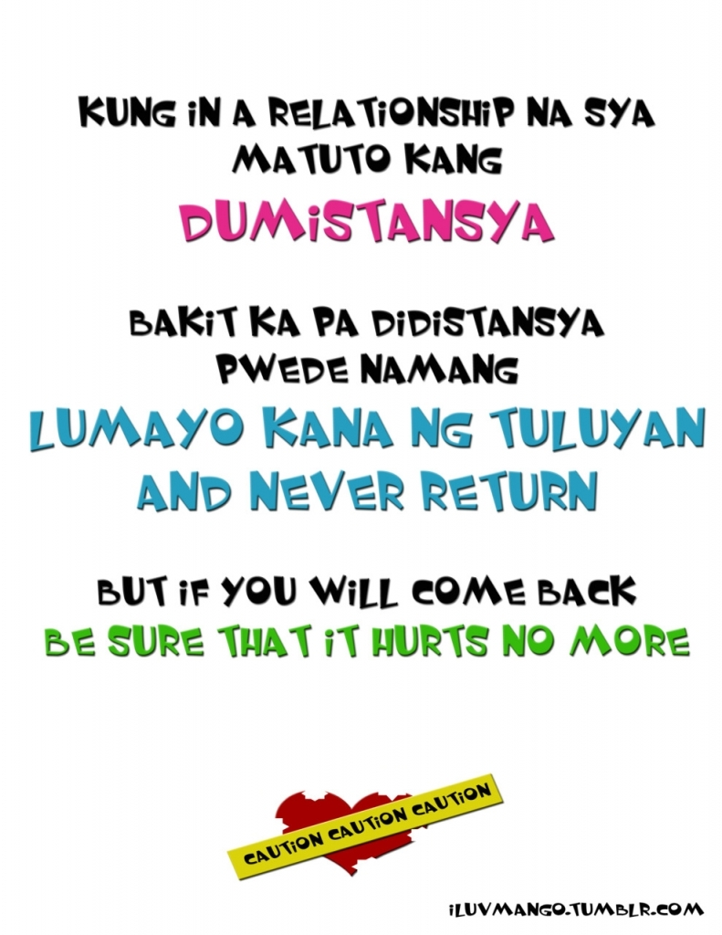 Tagalog Love Quarrel Quotes Bitter Quotes Tagalog Quote Addicts