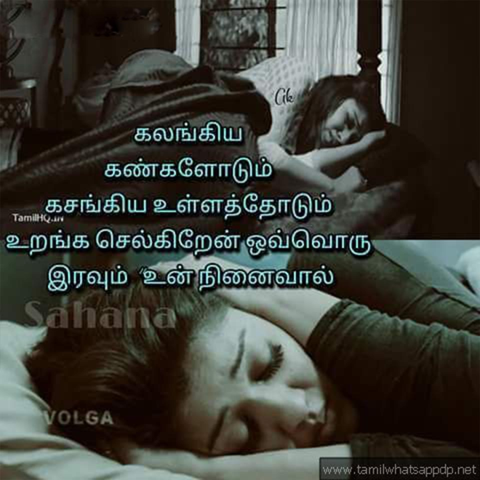 Tamil Love Feel Dialogues Whatsapp Dp  Tamil Love Feelings