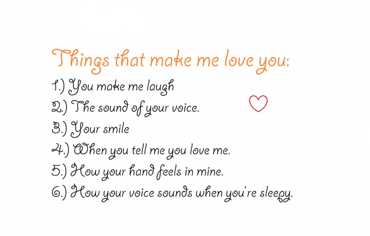 Things Cute Love Quotes Him That Make Me You Laugh Voice Smile Mine Sleepy Feels Hand
