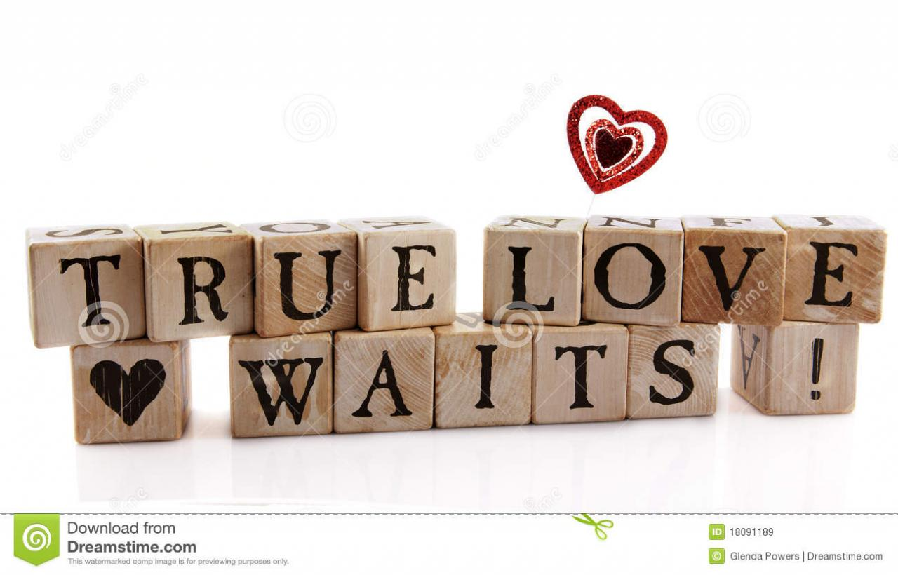 True Love Waits