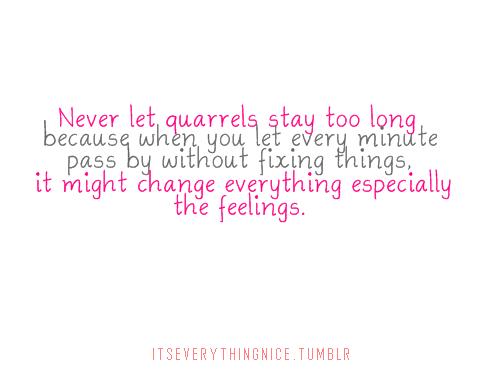 Love Quarrel Quotes Quotesgram