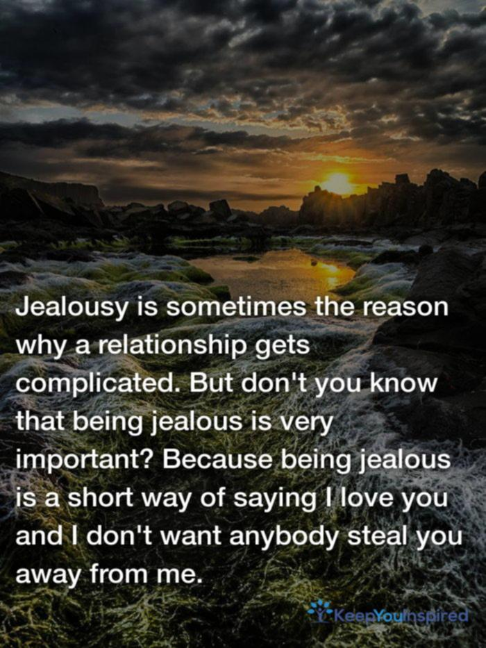 Unknowns Jealousy Quotes