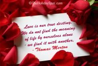 Valentines Day Love Quotes Card