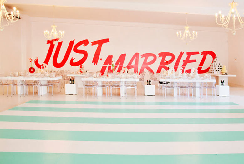 Eleven Ways To Use Wedding Quotes In Decorations