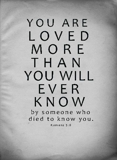 You Are Loved Bible Quotes