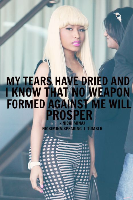 I Think This Is My Fave Nicki Quote