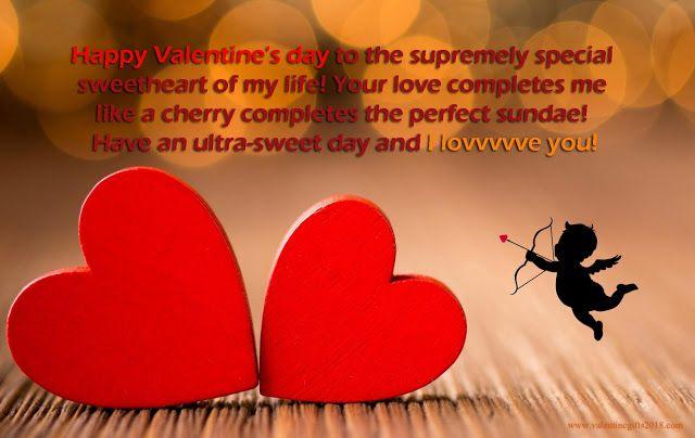 Valentine Messages For Girlfriend  Sms Valentine Love Quotes Valentines Day Wishes