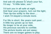 A Mothers Love Poem For Her Son