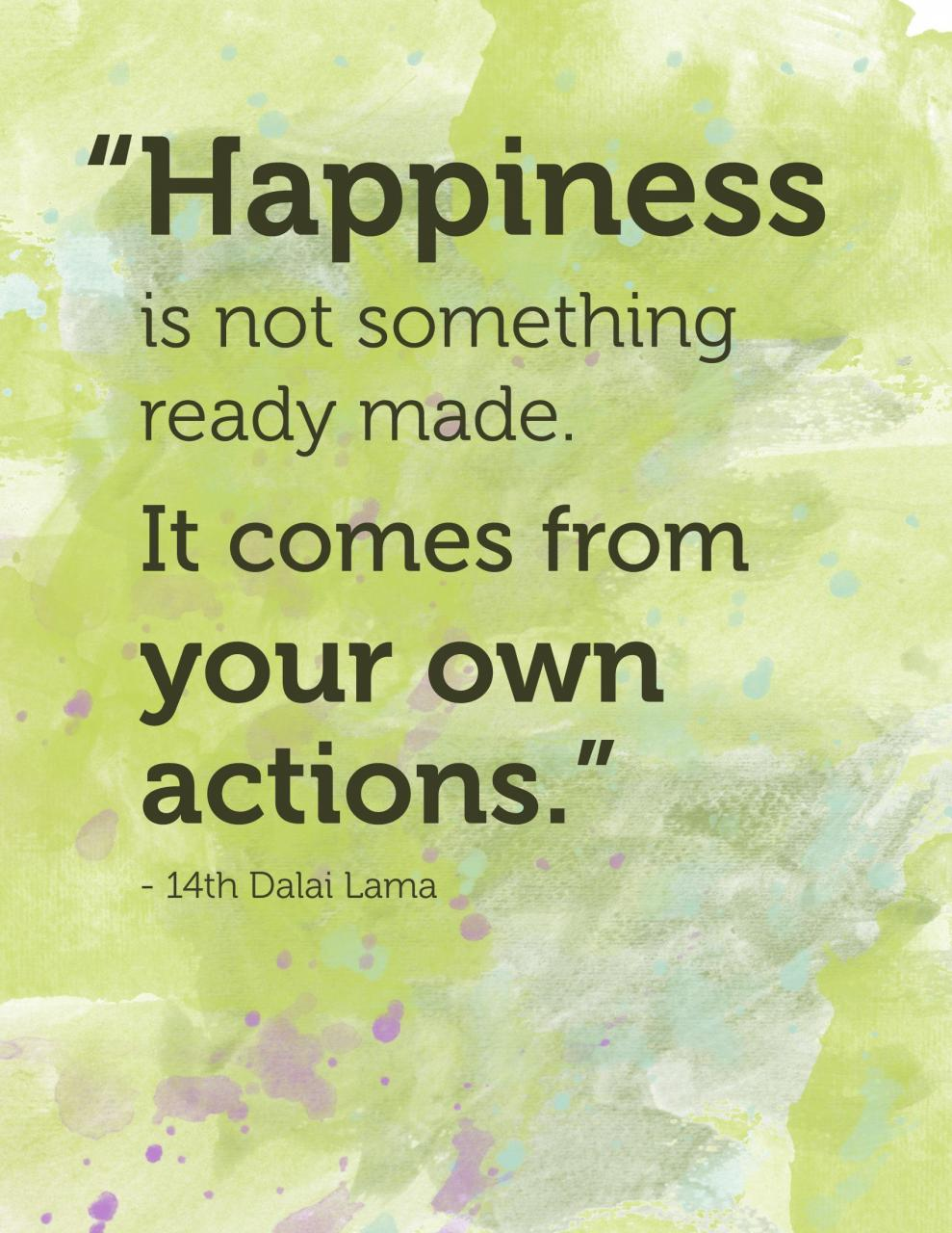 Happiness Quotes Happiness Quote From Th Dalai Lama