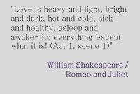 Shakespeares Romeo And Juliet Quote