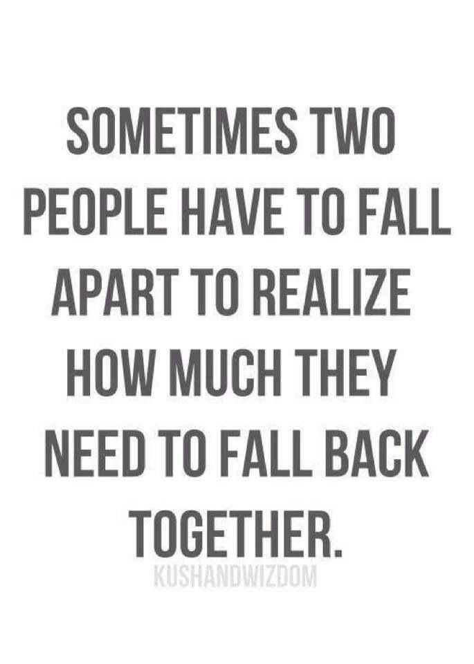 Love Break Up Couples Quotes Relationship
