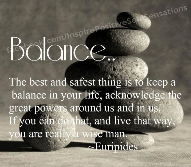Zen Quotes On Balance  Quotes Colorful Pictures