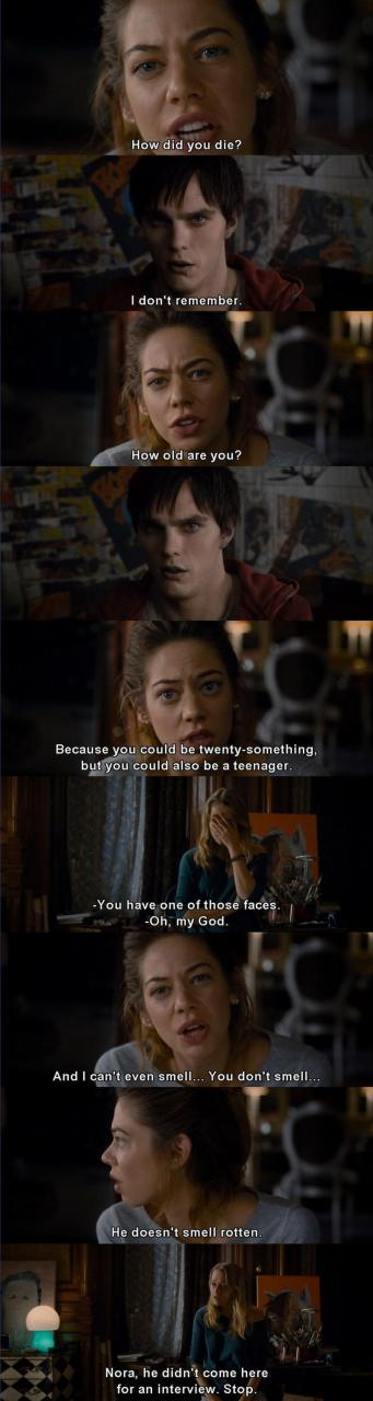 Warm Bodies One Of The Sweetest Movies Ive Seen In A