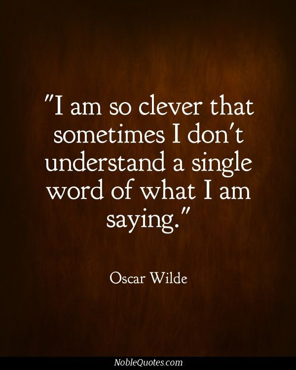 A List Of The  Most Memorable Oscar Wilde Quotes