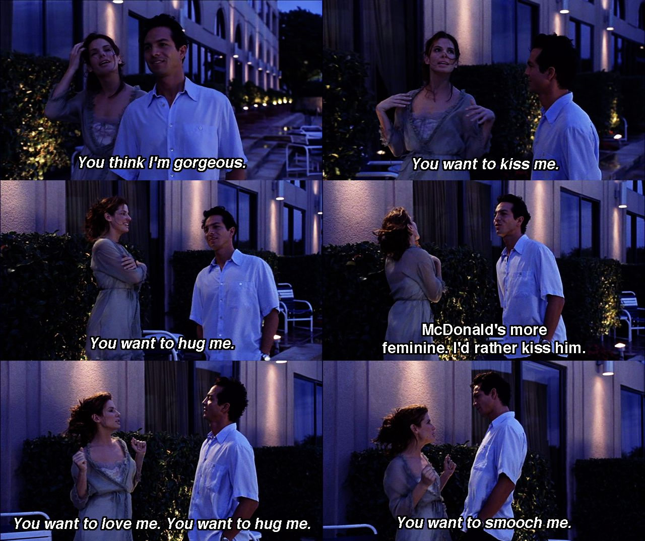 Miss Congeniality Quotes You Love Me | Hover Me