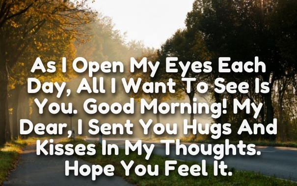 Good Morning Love Quotes My I Her And Him I Love You