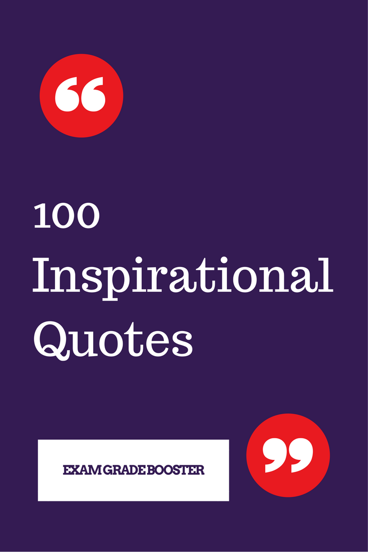 Inspirational Study Quotes
