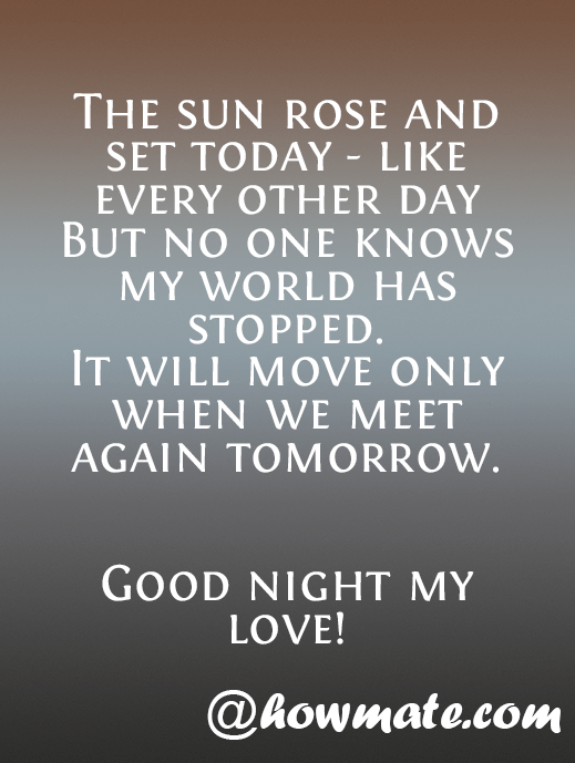 Good Night Quotes With Wishes Images Howmate