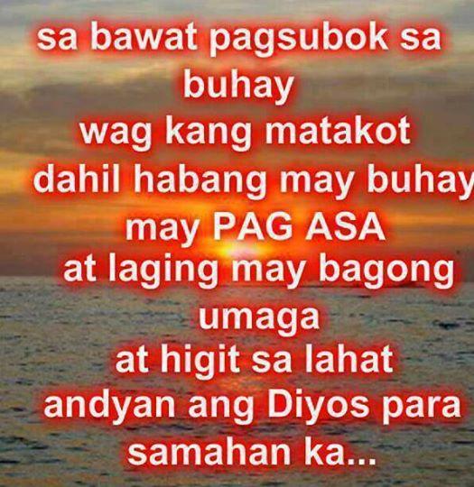 Tagalog Diyos Lord Quotes