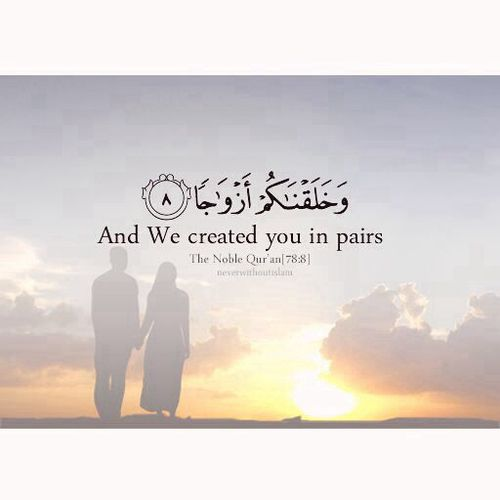 Islamic Marriage Quotes For Husband And Wife Are About Marriage In Islam With Love Islamic Wedding Is A Blessed Contract Between A Man And A Womanmuslim