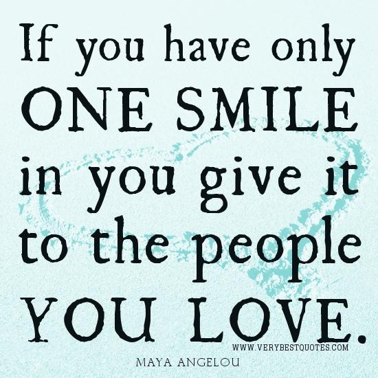 Smile Quotes And Love Quotes