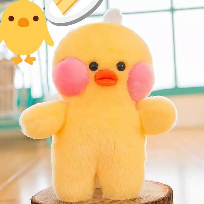 Kado Mainan Anak Perempuan Boneka Ayam Bebek Super Lembut Dan Lucu