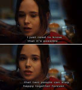 Movie Quotes About Love Ellen Page Juno Love Movie Quotes Movies