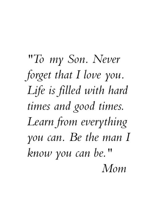 To My Sons Isaac And Blake Proud To Be Your Mom  E D A
