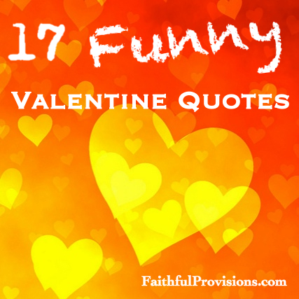 Valentines Funny Quotes