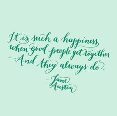 Love That Jane Austen Wisdom