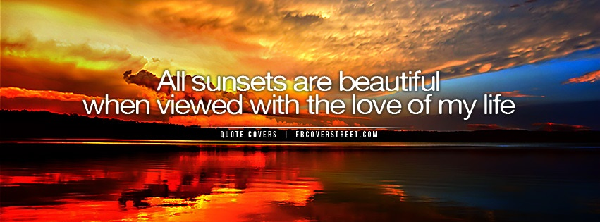 All Sunsets Are Beautiful Cover